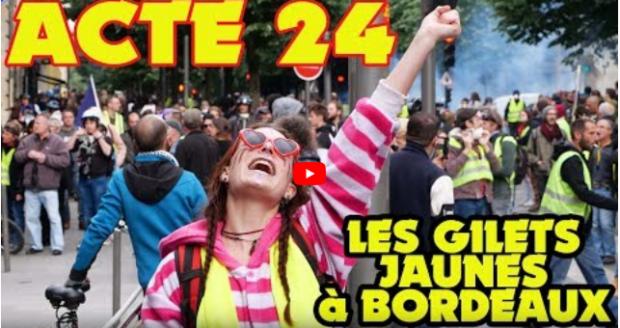Témoignage Manif Bordeaux Acte 24